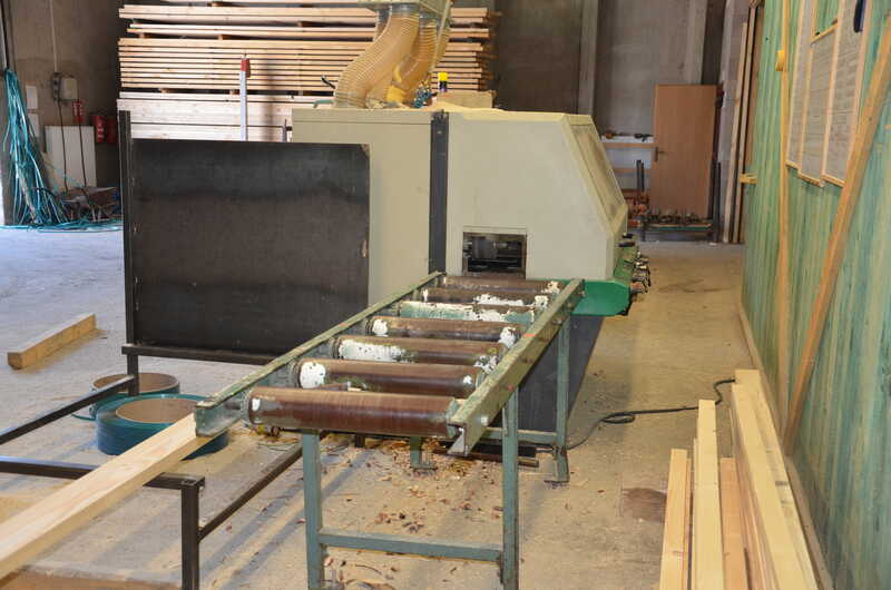 Weinig 4-Side Planer - second-hand Profimat 23E (1)