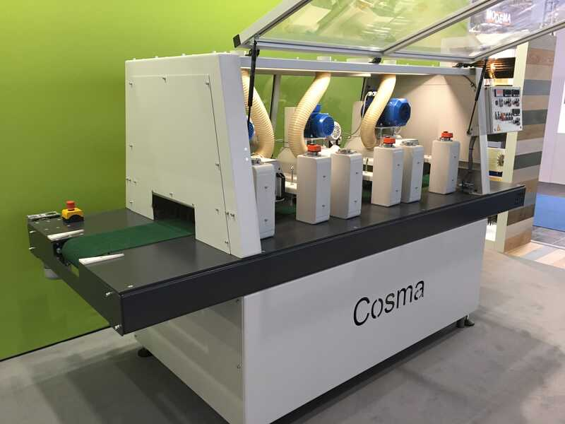 COSMA Structuring and Sanding Machine - NEW 400 1S 2S 5D + C (1)