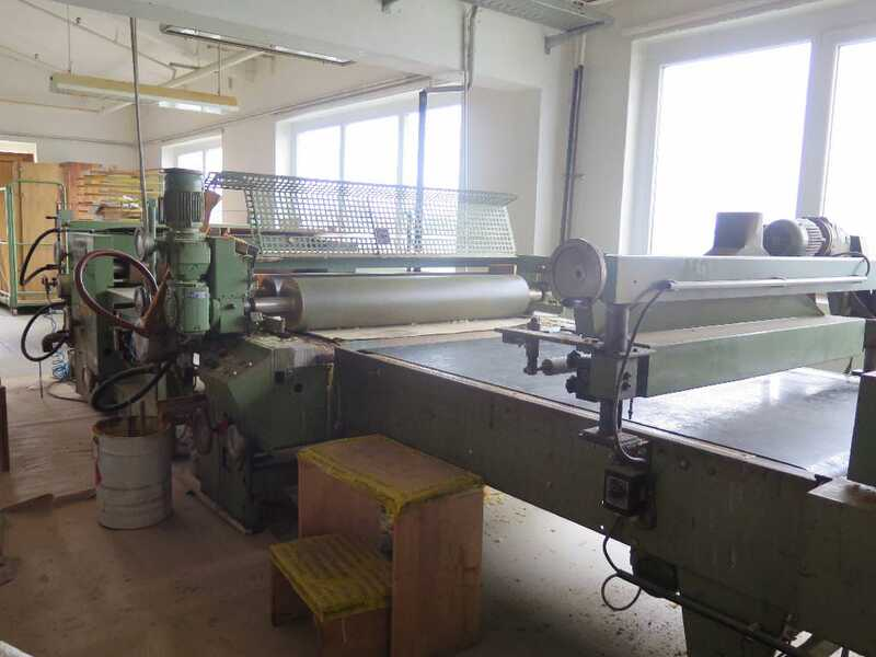 Hymmen / Rippert Roller Coating Line - second-hand main picture