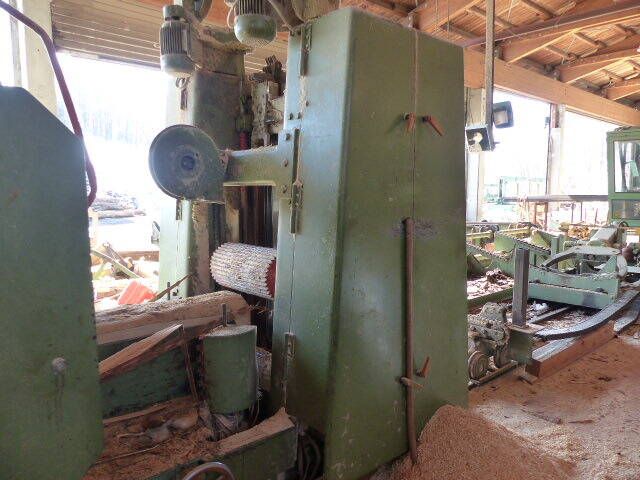 M 246 Hringer Hit Frame Saw Plant Second Hand Promas