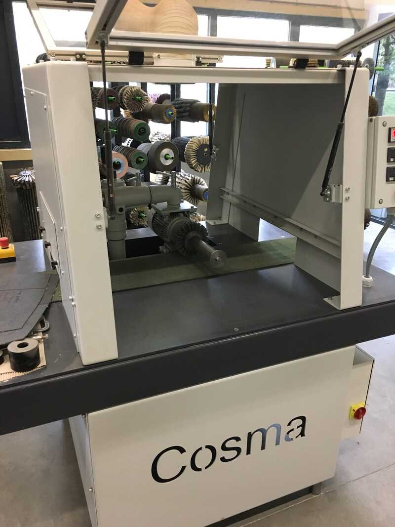 COSMA Brush and Structuring Machine - NEW 1 Hs (2)