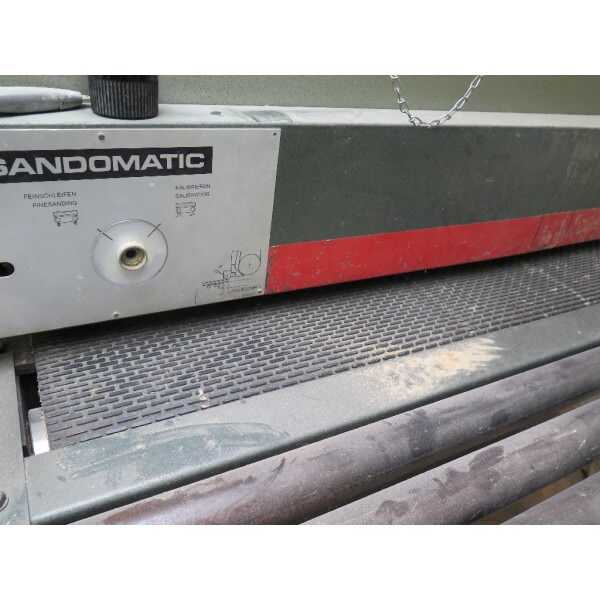 Sandingmaster Wide Belt Sander - second-hand SCSB 1100 (2)