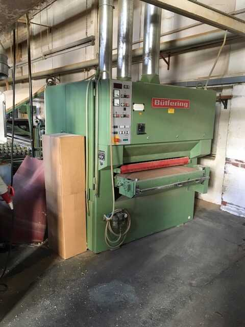 Bütfering Wide Belt Sander - second-hand AWS 2 main picture