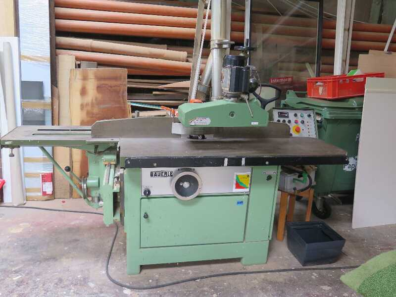 Bäuerle Table Moulder with Tilting Spindle - second-hand SFM/201 main picture