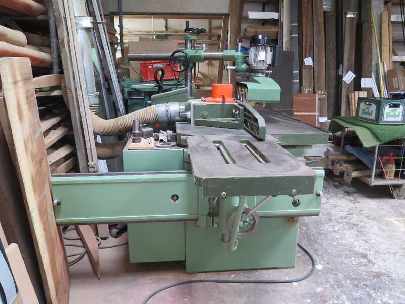 Bäuerle Table Moulder with Tilting Spindle - second-hand SFM/201 (1)