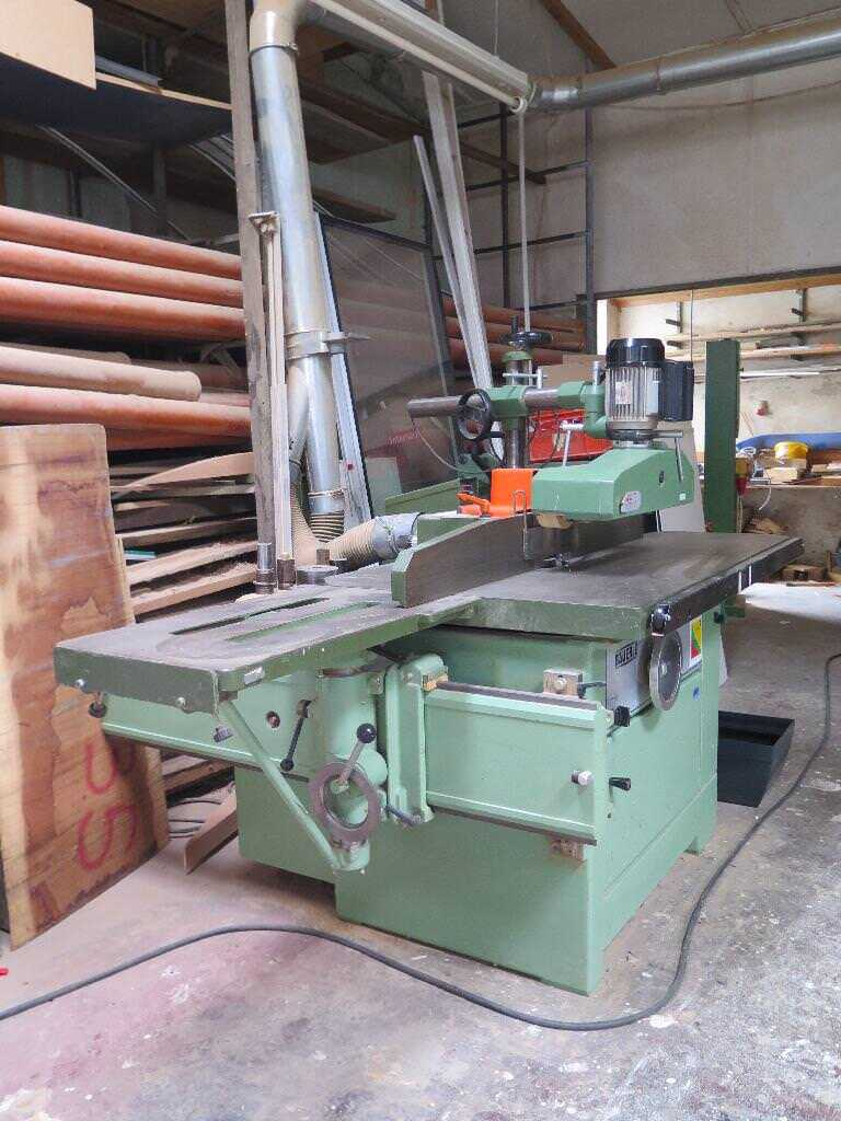 Bäuerle Table Moulder with Tilting Spindle - second-hand SFM/201 (2)