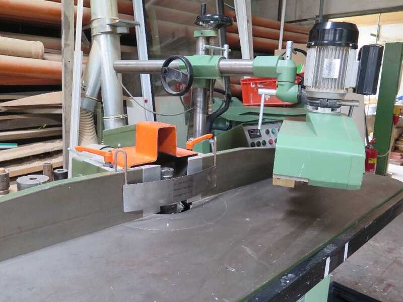 Bäuerle Table Moulder with Tilting Spindle - second-hand SFM/201 (4)