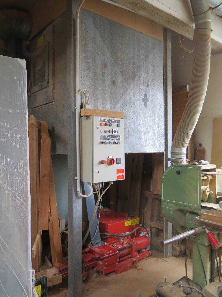 Spänex Briquetting Press with Filter Plant - second-hand main picture
