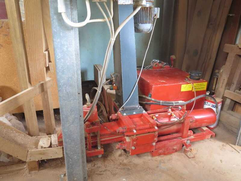 Spänex Briquetting Press with Filter Plant - second-hand (2)