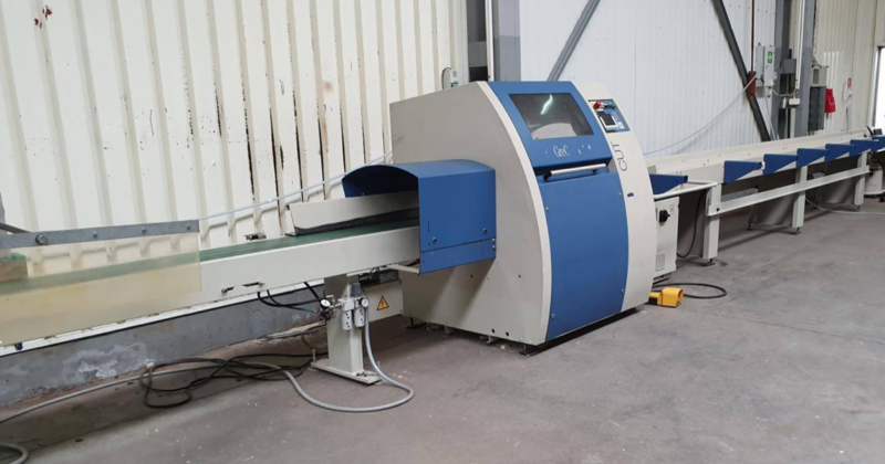 Dimter Cross Cut and Optimisation Saw - second-hand Opticut S75 (1)