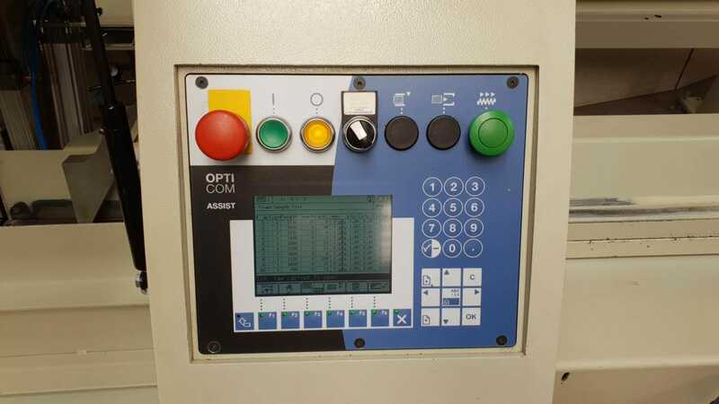 Dimter Cross Cut and Optimisation Saw - second-hand Opticut S75 (6)