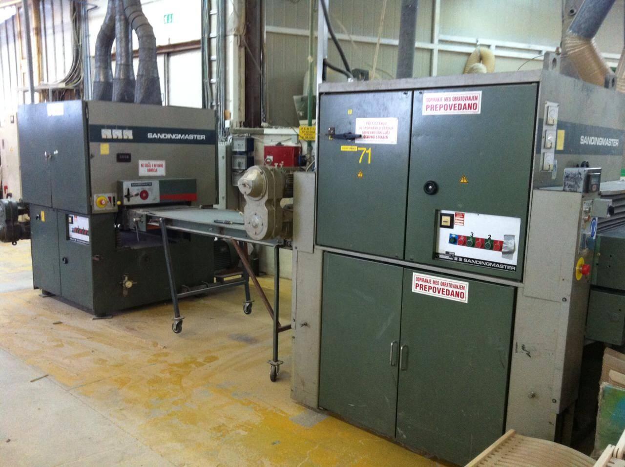Sandingmaster Calibrating Line Second Hand Promas