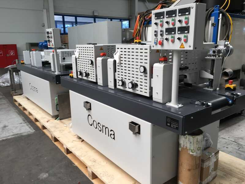 COSMA Line for Oiling and Staining of Solid Wood Floor / Parquet - second-hand (6)