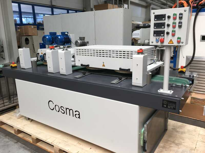 COSMA Line for Oiling and Staining of Solid Wood Floor / Parquet - second-hand (14)