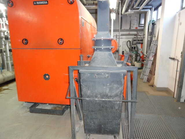 Mawera Wood Chip Heating System - second-hand FU 550 main picture
