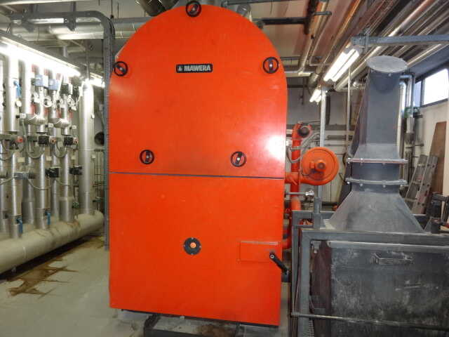 Mawera Wood Chip Heating System - second-hand FU 550 (1)