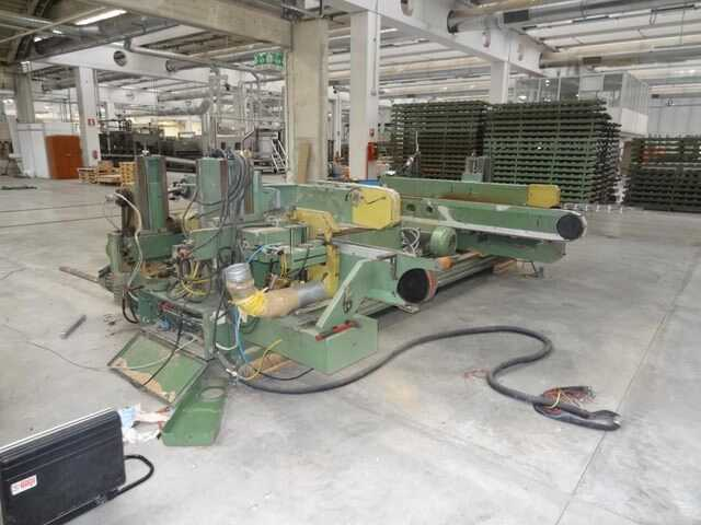 Gabbiani Double End Tenoner Line - second-hand main picture