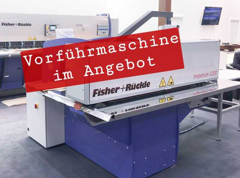 Fisher + Rückle Longitudinal Veneer Splicer - Showroom Machine IMPETUM 1200 main picture