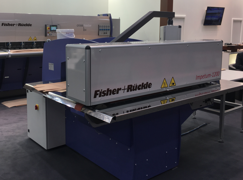 Fisher + Rückle Longitudinal Veneer Splicer - Showroom Machine IMPETUM 1200 (1)