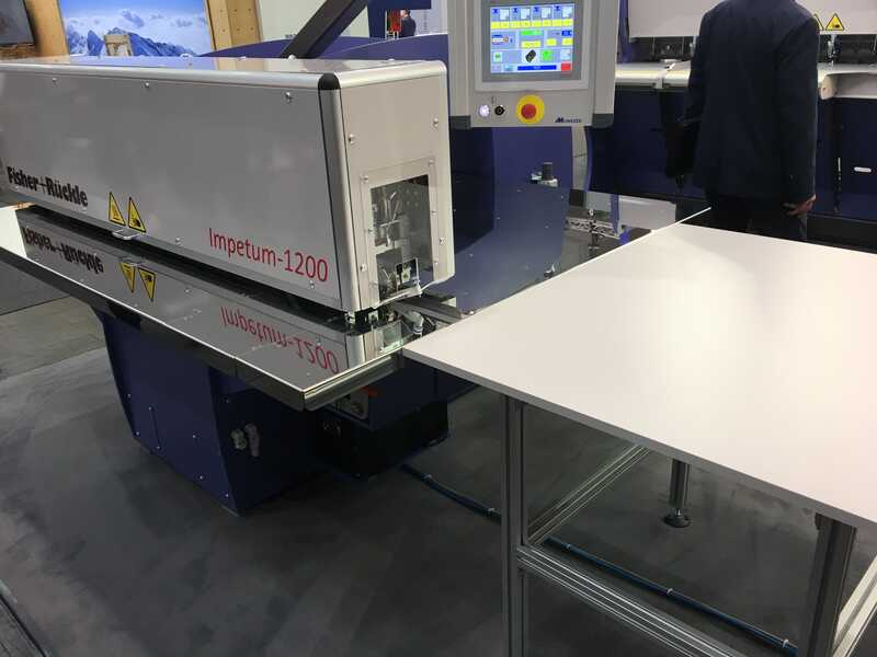 Fisher + Rückle Longitudinal Veneer Splicer - Showroom Machine IMPETUM 1200 (2)