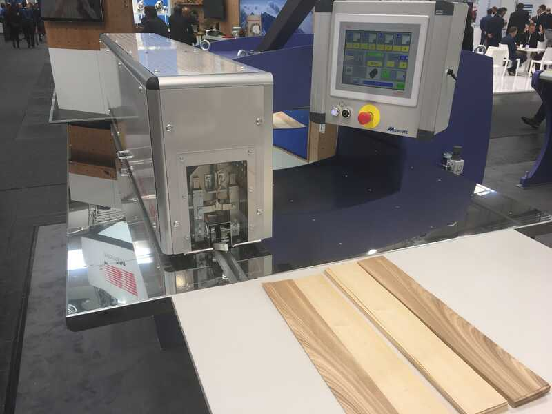 Fisher + Rückle Longitudinal Veneer Splicer - Showroom Machine IMPETUM 1200 (3)