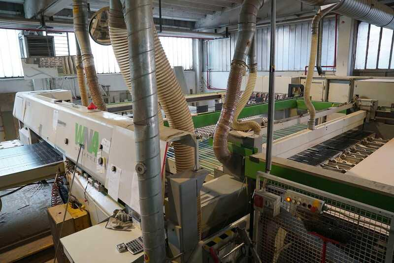 Wintersteiger Thin Cutting Frame Saw Second Hand Dsg Eco