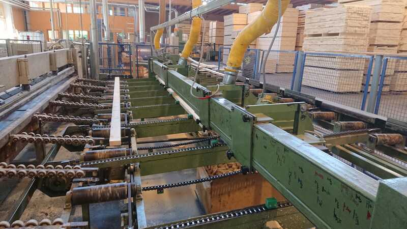 Holzmatic Multi Cross Cut Saw / Thru Feed Cross Cut Line - second-hand main picture