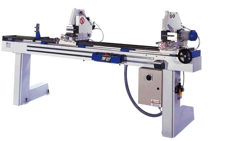 OMGA Double Mitre Saw for Glass Strips - NEW TRF 527 VIS CE main picture