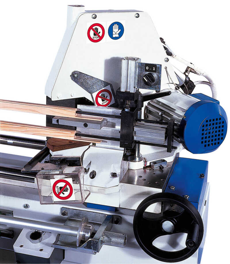 OMGA Double Mitre Saw for Glass Strips - NEW TRF 527 VIS CE (1)