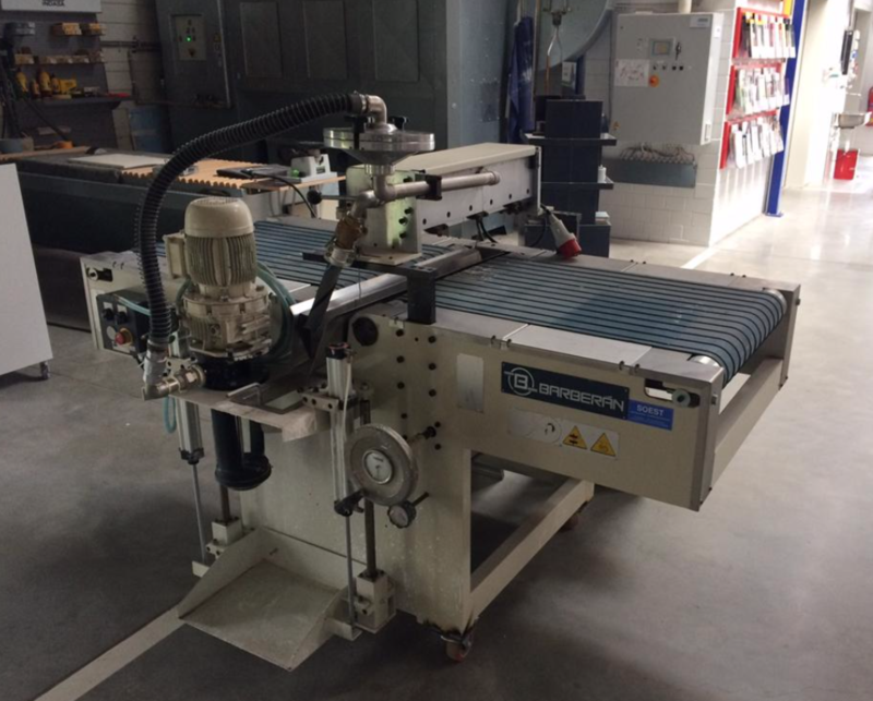 Barberan Curtain Coater - second hand main picture