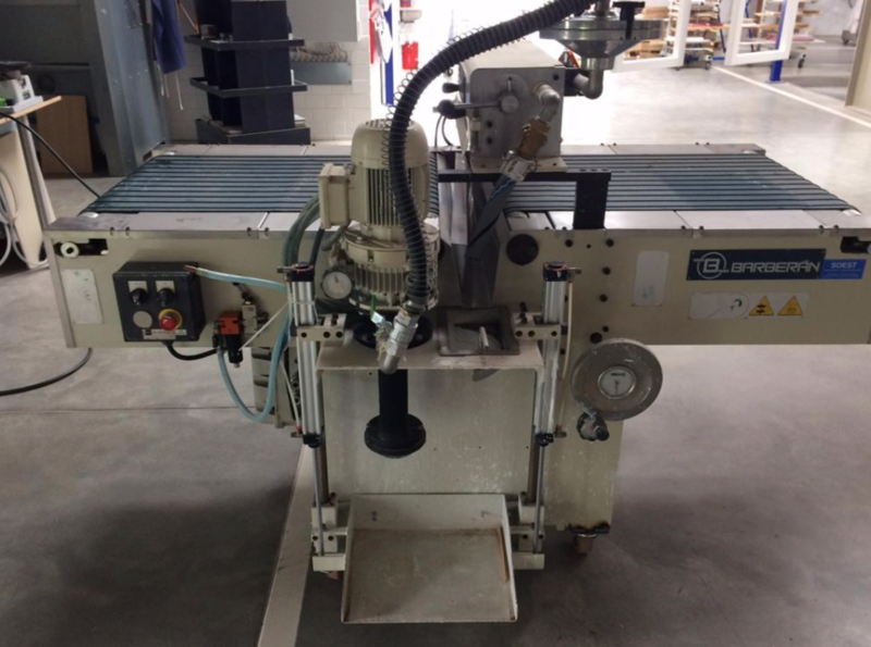 Barberan Curtain Coater - second hand (2)