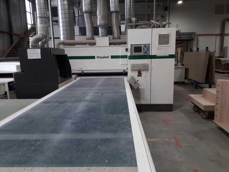 Venjakob Painting Line - second-hand HGS Z / CNC main picture