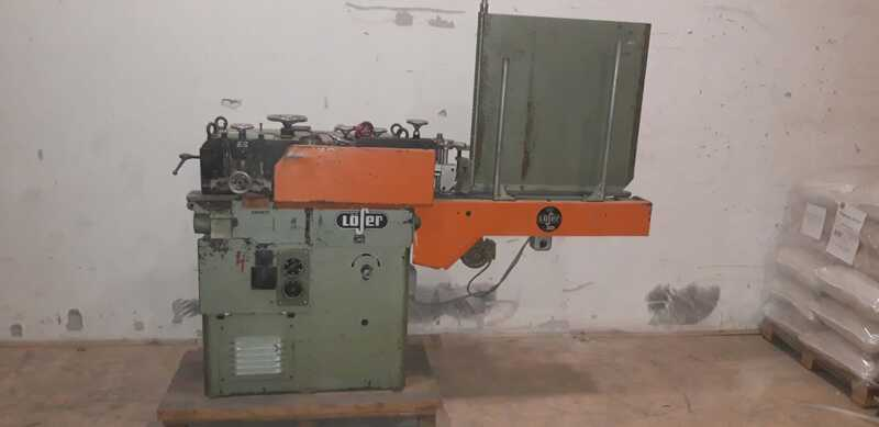 Löser Planing Machine for Rods - second-hand VF 120 main picture
