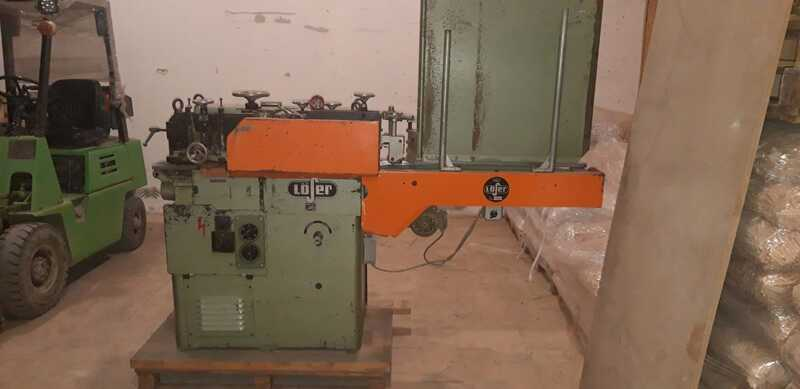 Löser Planing Machine for Rods - second-hand VF 120 (3)