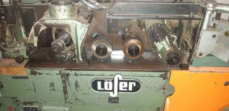 Löser Planing Machine for Rods - second-hand VF 120 (4)
