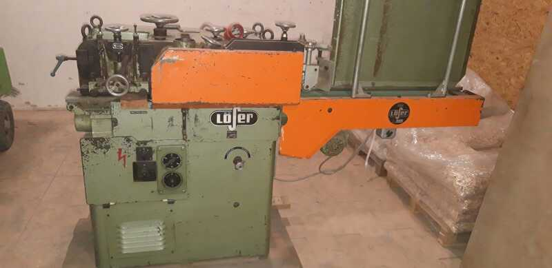 Löser Planing Machine for Rods - second-hand VF 120 (5)