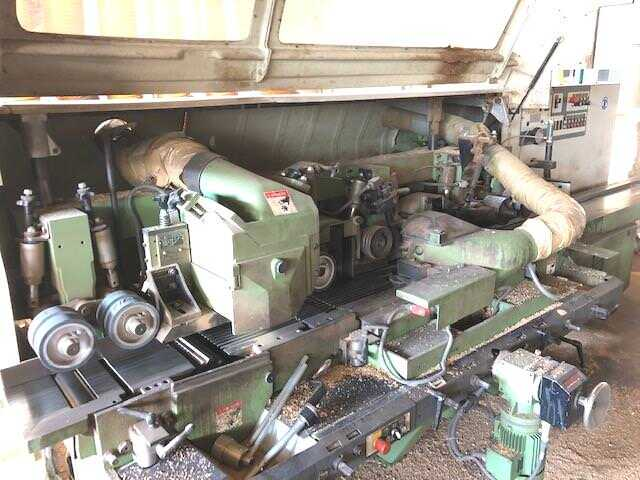 Weinig 4-Side-Planer - second-hand Unimat 23 (2)