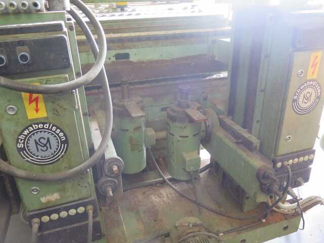 Schwabedissen Double End Tenoner - second-hand (4)