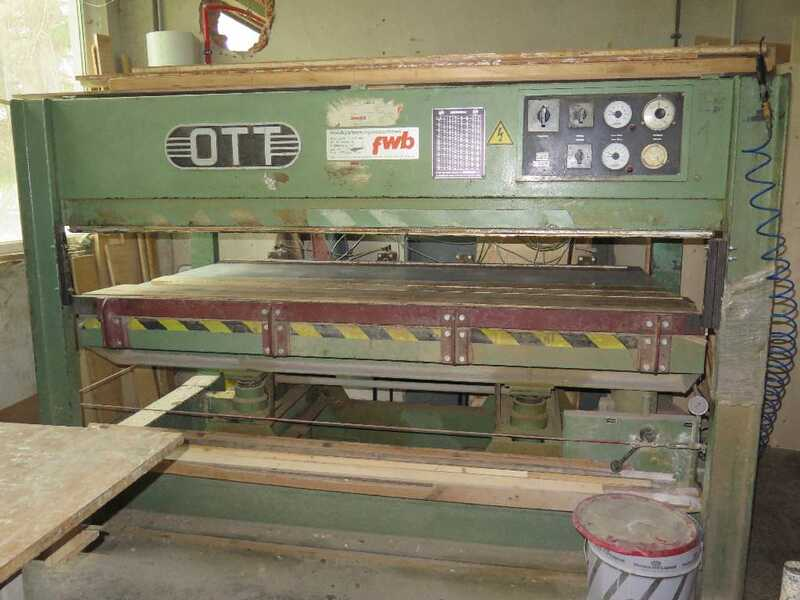 Ott Veneer Press for layers - second-hand (2)