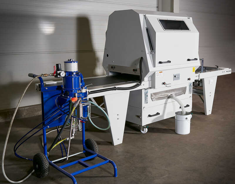 Promas Spraying Machine for Profile Strips - NEW LS-S 500 (2)