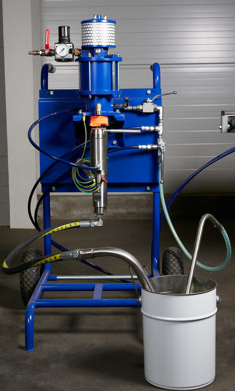 Promas Spraying Machine for Profile Strips - NEW LS-S 500 (12)