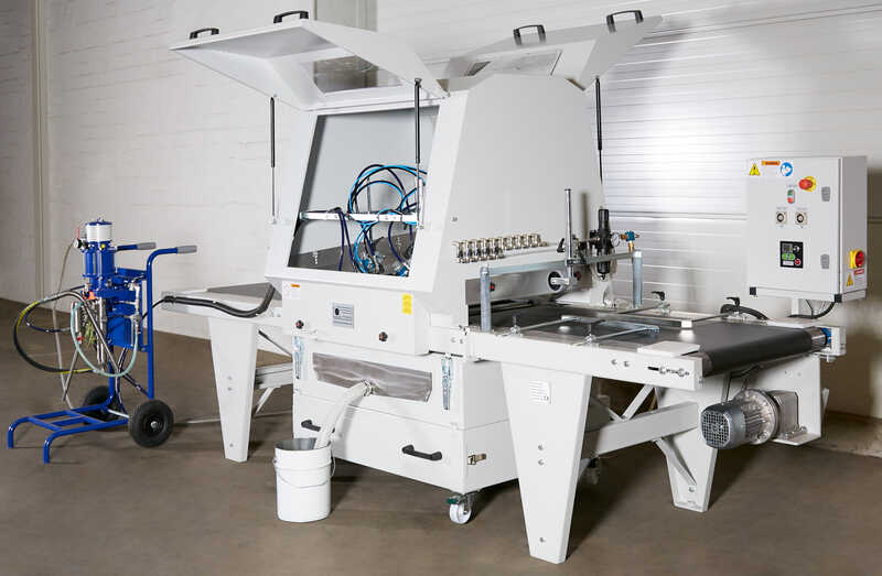 Promas Spraying Machine for Profile Strips - NEW LS-S 500 (13)