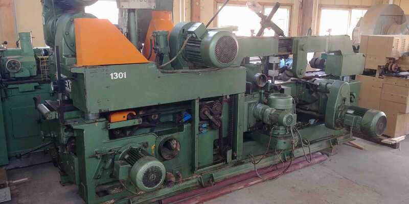 Rex High-Power Four Side Planer - second-hand Homs 310-K main picture