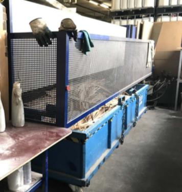 Fisher & Rückle / Monguzzi Double-Knife Veneer Guillotine - second-hand TRM 2L 3800 (8)