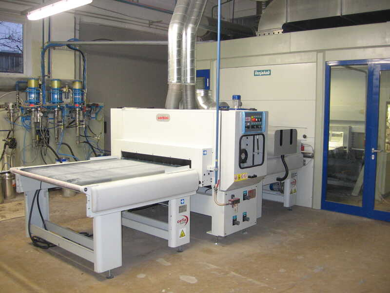 Venjakob Paint Line / Spraying Machine - second-hand HGS-DUO/CL (1)