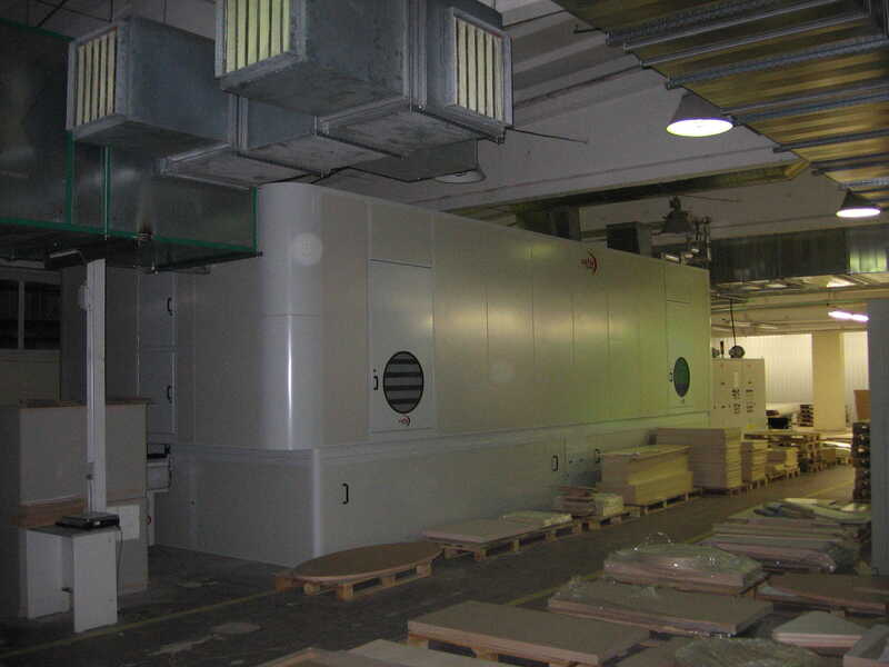 Venjakob Paint Line / Spraying Machine - second-hand HGS-DUO/CL (7)