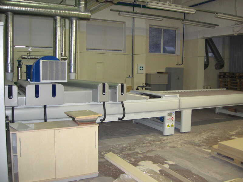 Venjakob Paint Line / Spraying Machine - second-hand HGS-DUO/CL (8)