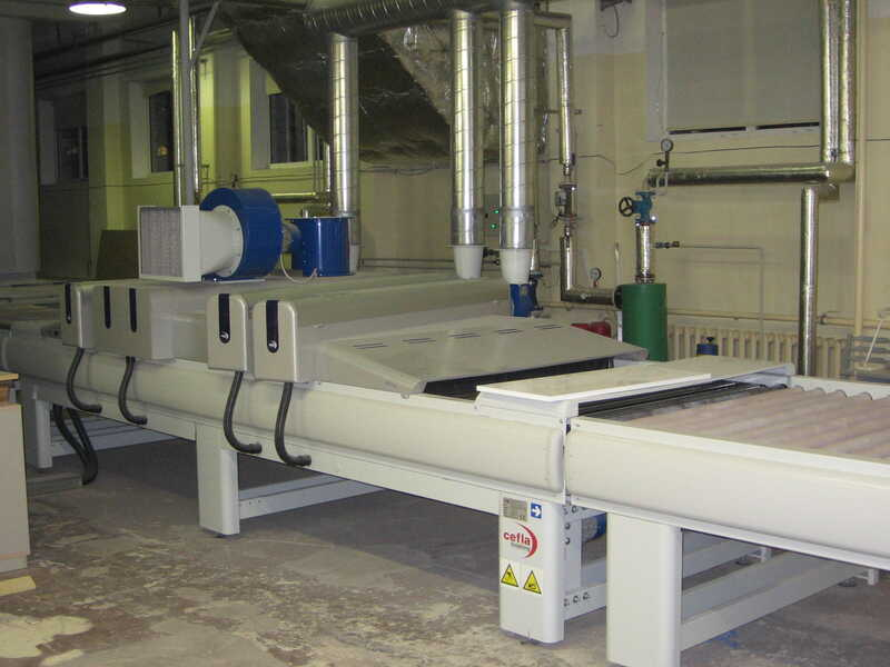 Venjakob Paint Line / Spraying Machine - second-hand HGS-DUO/CL (10)