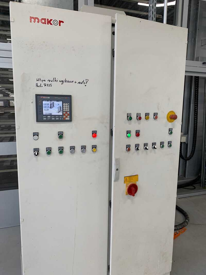 Makor Vertical Dryer for Profile Strips - second-hand FPF (3)