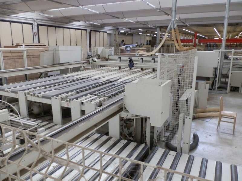 Gabbiani Panel Beam Saw Line - second-hand Axioma 125 main picture